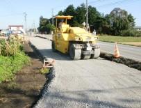 道明地区地区界道路整備工事 施工状況