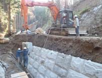 林道漆沢線 災害復旧その2工事 施工状況