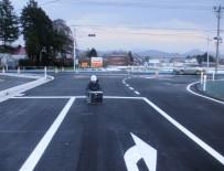 道明地区地区界道路整備工事 完成