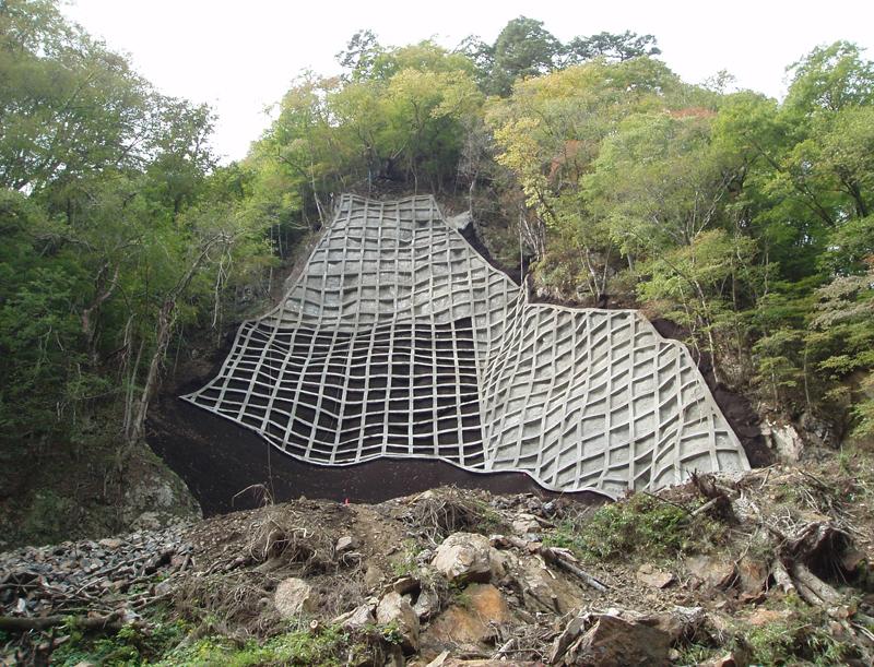 韮野地区 災害関連緊急治山工事 完成